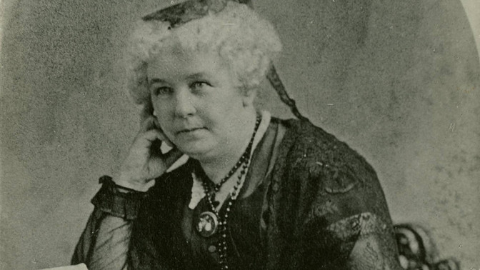 Elizabeth Cady Stanton - Solitude of Self 1892 Address Before Congress. Women's Suffrage Centenn