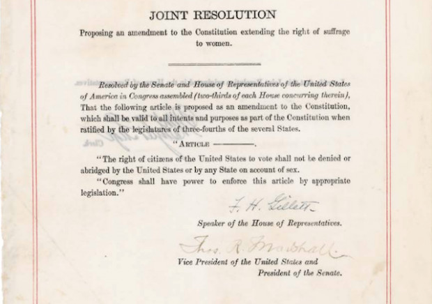 19th Amendment was Just the Beginning.  Ratify the Equal Rights Amendment