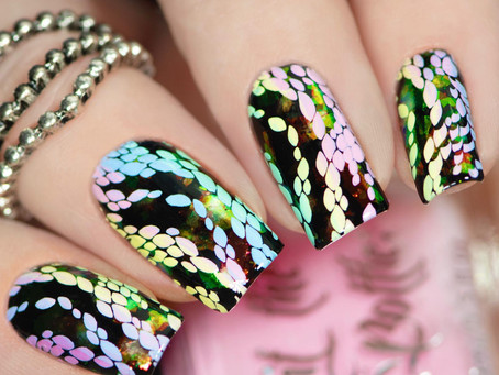 Creative shop plate collab with - Manisha M. | Stamping Nail Art