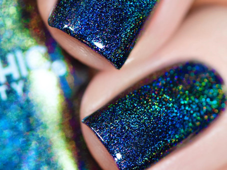 🧛♀️ UBERCHIC BEAUTY HALLOWEEN 2020 POLISHES REVIEW AND SWATCHES 🕸 Spider Web Nails (2020)
