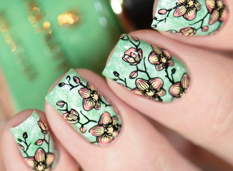 NAIL ART IDEAS using Born Pretty x KunCat nail polish set |Reverse Stamping