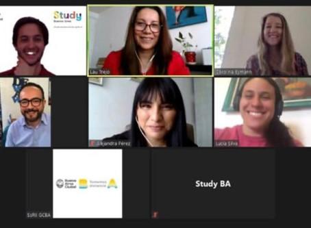 Webinar- Estudia en Buenos Aires