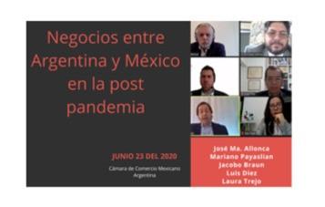 Webinar - Negocios entre Argentina y México en la post pandemia.