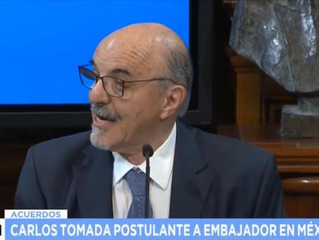 """Carlos Tomada """"Un intercambio a la altura de los dos paises"""""""