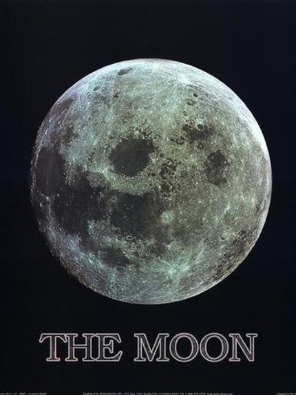 The Moon Poster Sml