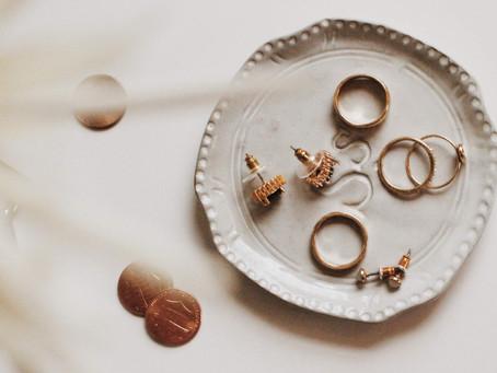 Cuidado de tus joyas de plata y oro