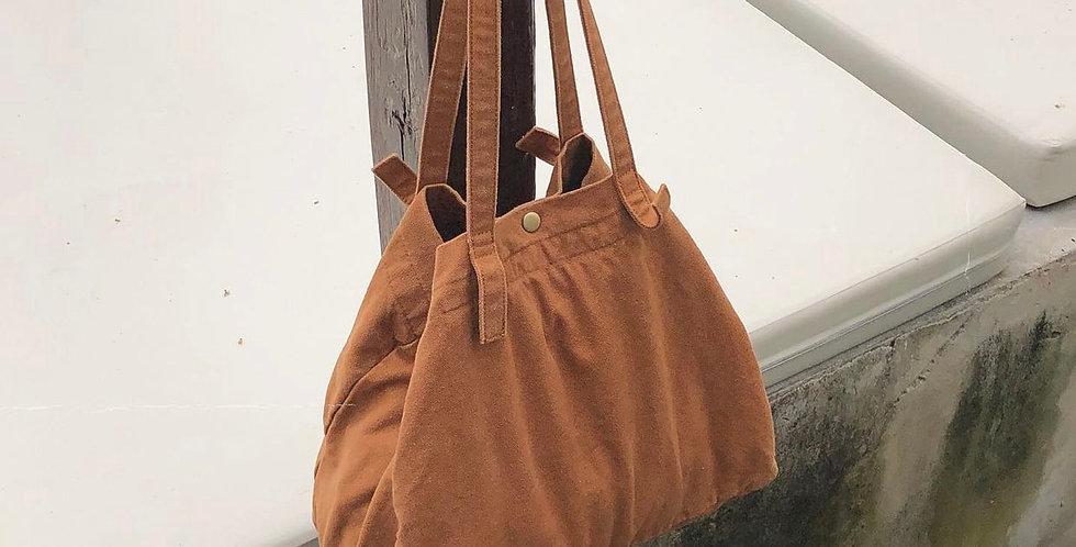 Bag กระเป๋าผ้าดิบสะพายข้าง Canton tote