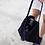 Thumbnail: Leather bagกระเป๋าสะพายข้างผ้าหนังกลับ