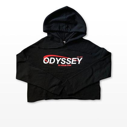 Odyssey Crop Top Hoodie