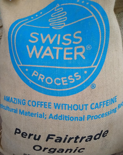 Organic Fair-Trade Decaf Peruvian Coffee