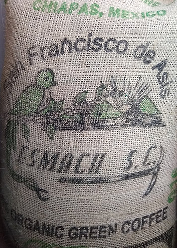 Organic Fair-Trade Mexican Chiapas Coffee
