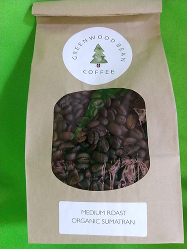 Organic Fair-Trade Sumatran Coffee