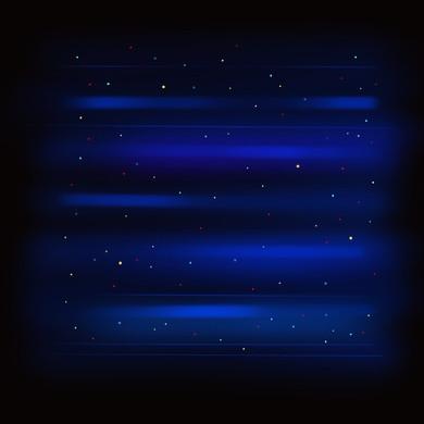 Starry Night 3_Blue