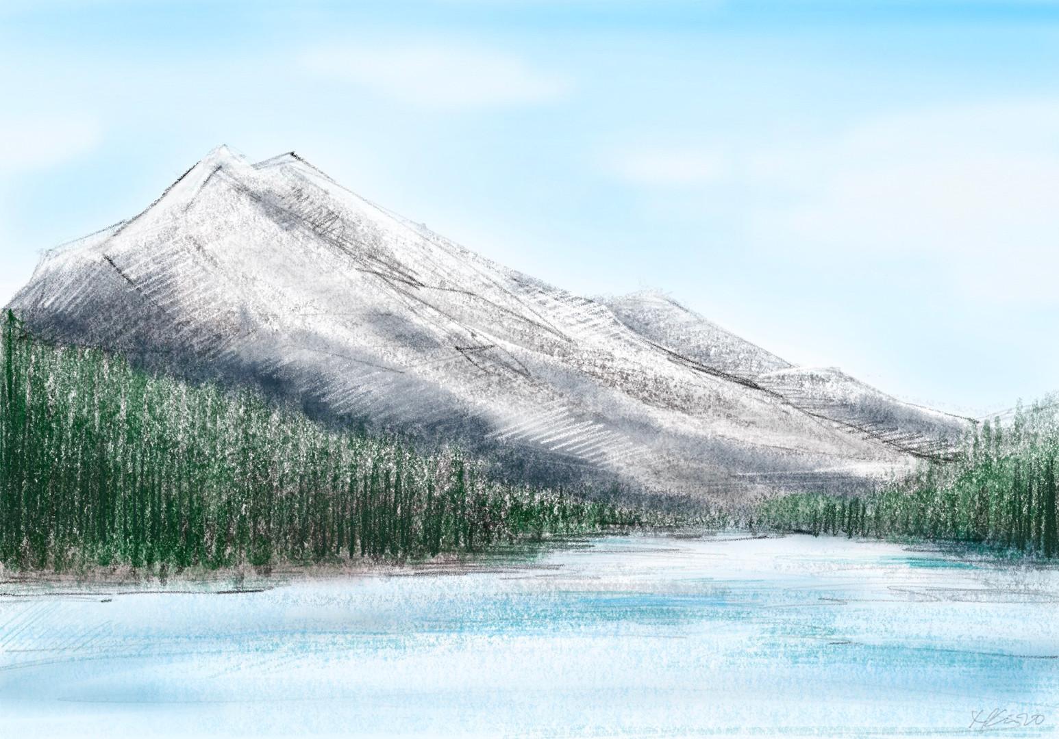Alberta Mountains and Lakes