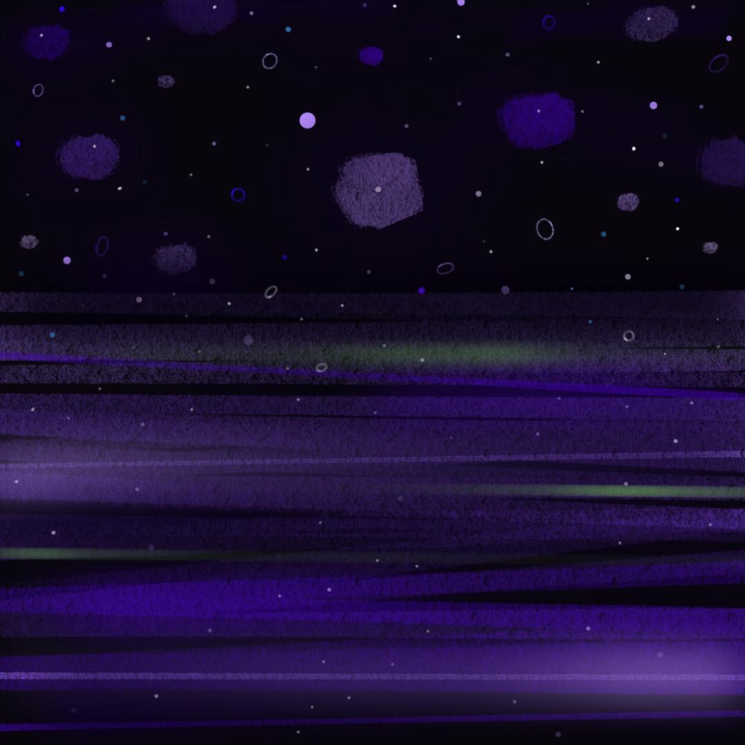 Starry Night 4_Purple