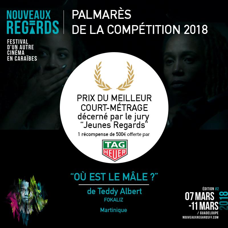 Prix décerné par le Jury Jeune Regar