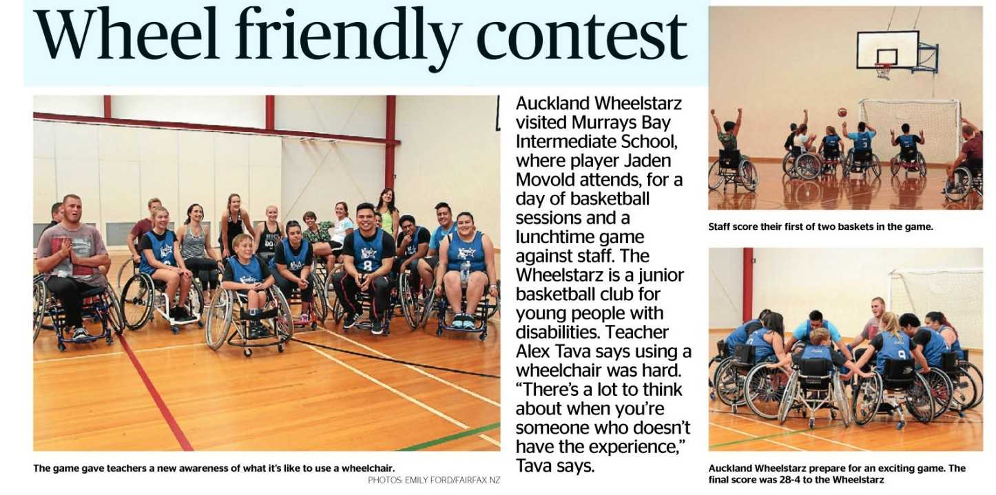 Wheelchair Basketball at MBIS