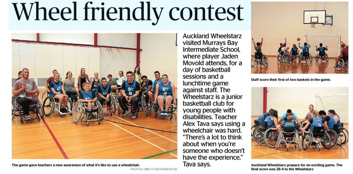 Wheelchair Basketball at MBIS