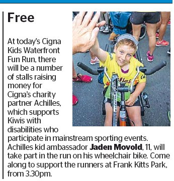 Cigna Waterfront Kids Run