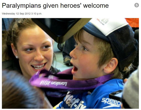 2012 NZ Paralympic Team Welcome Home