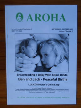 Aroha La Leche League Magazine
