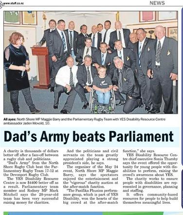 NZ Parliamentary Rugby