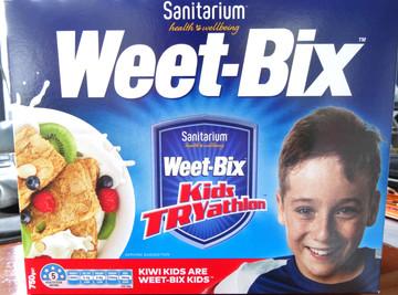 Weet-Bix Cereal Box
