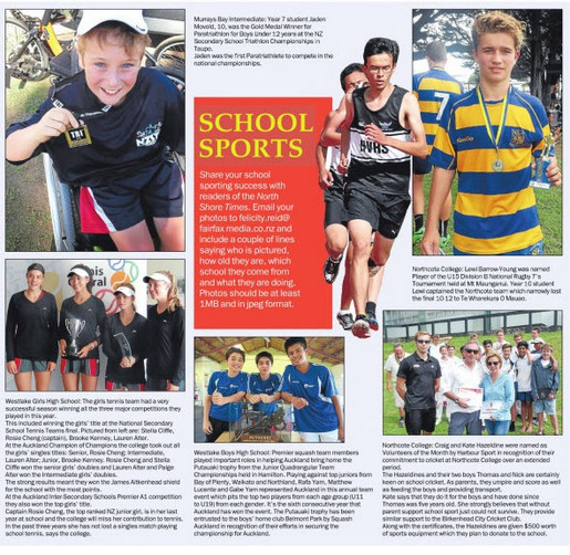 NZ Secondary School Triathlon Champs