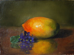Mango and African Violet