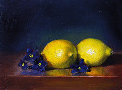 Lemons and African Violet