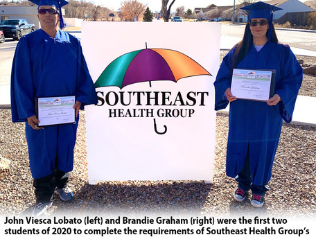 Two Graduate From Southeast Health Group's Vocational Program