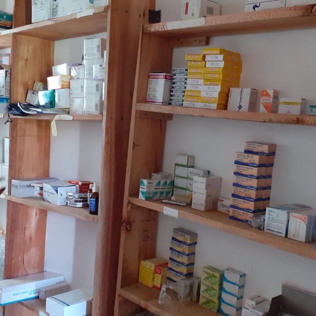 La disponibilità e l'erogazione dei farmaci è sotto i controllo della tecnica di laboratorio