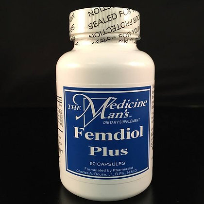 Femdiol Plus 90 capsules, The Medicine Man's