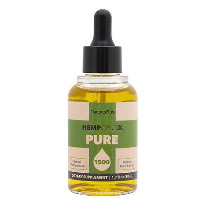 HempCeutix Pure Hemp Oil, 1500 mg/ 50 ML, Nature's Plus
