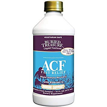 ACF (Acute Cold & Flu) Fast Relief, 16 fl. oz., Buried Treasure