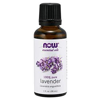 Lavender oil, 100% Pure, 1 fl oz (30 ml), NOW essential oils