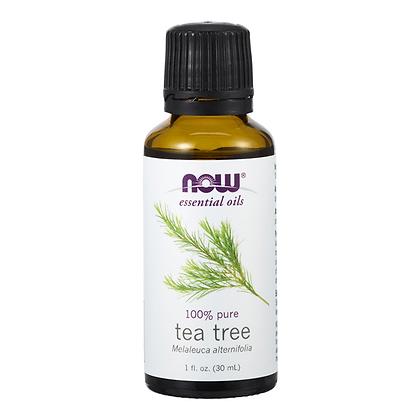 Tea Tree oil, 100% Pure, 1 fl oz (30 ml), NOW Essential Oils