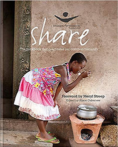 share cookbook Women for Women