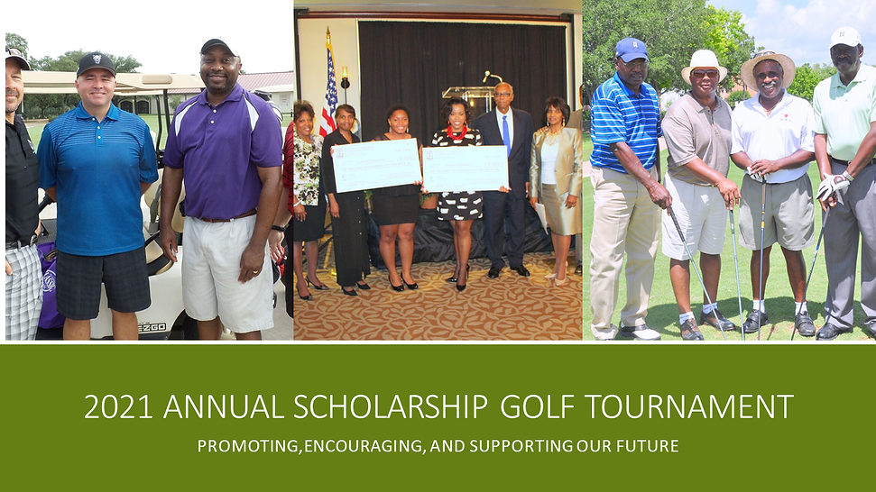 2021 Annual Scholarship Golf Tournament.