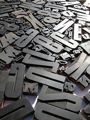 Utfresede bokstaver