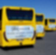Bli sett Bussreklame