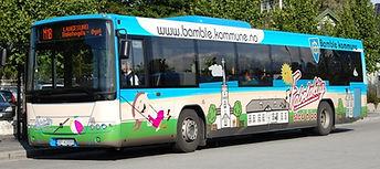 fulldekor av buss