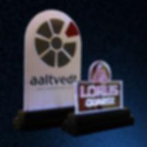Akryl logoskilt