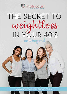 Secret to weight loss in your 40 cover10