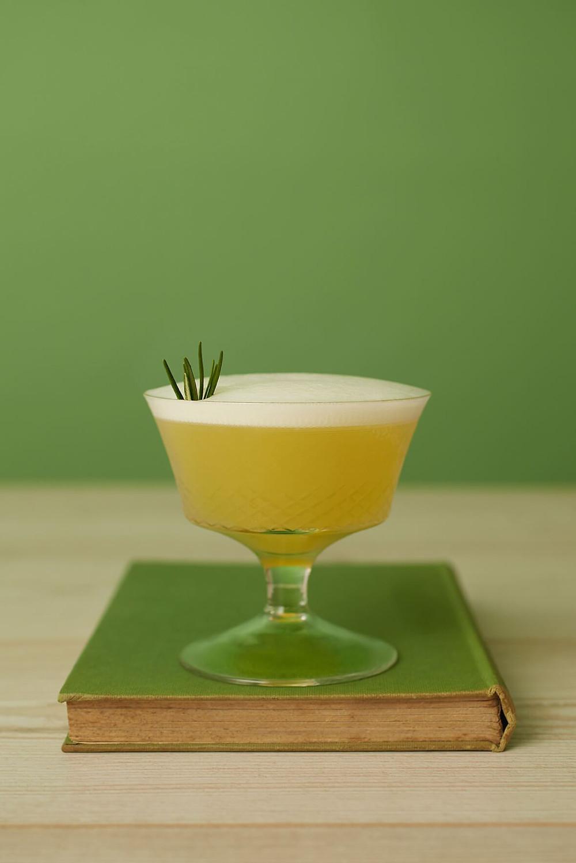 Garden Sour - non-alcoholic summer drinks