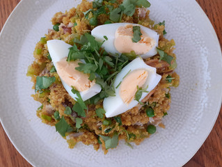Healthy Quinoa Kedgeree