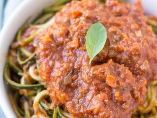 Healthy Bolognese Sauce