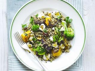 Quinoa, Squash and Broccoli Salad