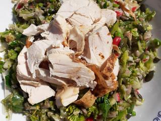 Raw Brassica Salad