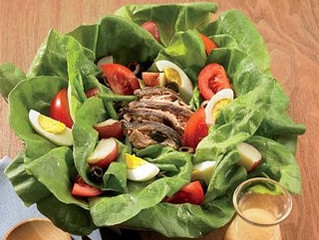 Salad Nicoise - the cravings buster